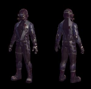Combat Diver Armor Series